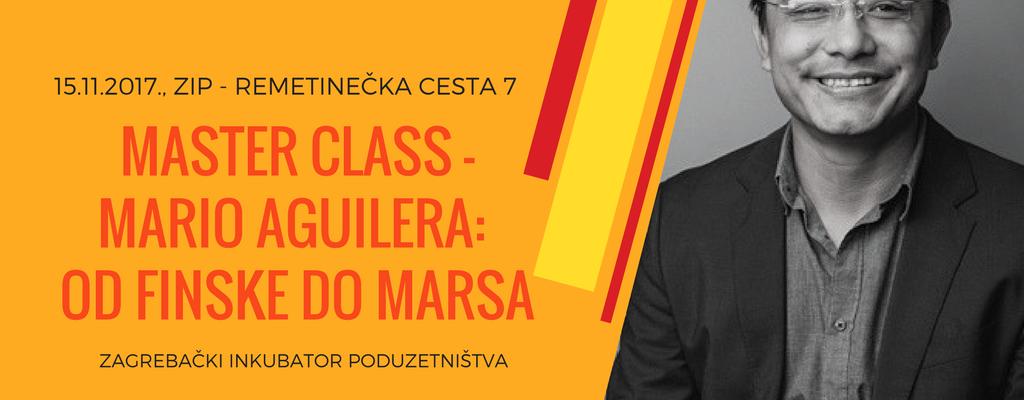 Master Class - Mario Aguilera